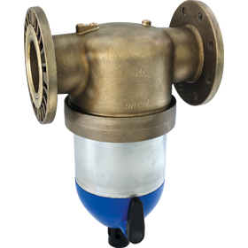 Backwashfilter with flange connection 6380