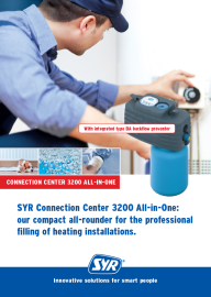 Connection Center 3200 All-in-One: our compact all-rounder for the professional filling of heating installations.