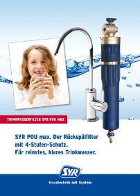 POU max: Trinkwasserfilter am Point-of-Use