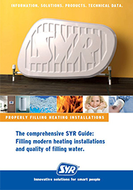 Filling modern heating installations