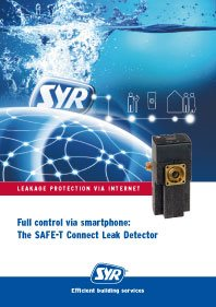 Full control via smartphone: The SAFE-T Connect Leak Detector