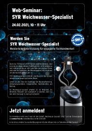 SYR Weichwasser-Spezialist<br>24.02.2021, 10 - 11 Uhr