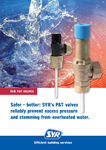Safer-better: SYR's P&T valves reliably prevent excess pressure and streaming from overheated water