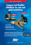 SAFETY GROUPS SYROBLOC - Compact and flexible: SYROBLOC for safe and quick installation